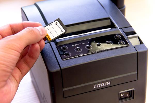 Drukarka fiskalna Novitus HD E - Realizuje kopie paragonów w formie elektronicznej